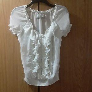 Abercrombie sheer blouse